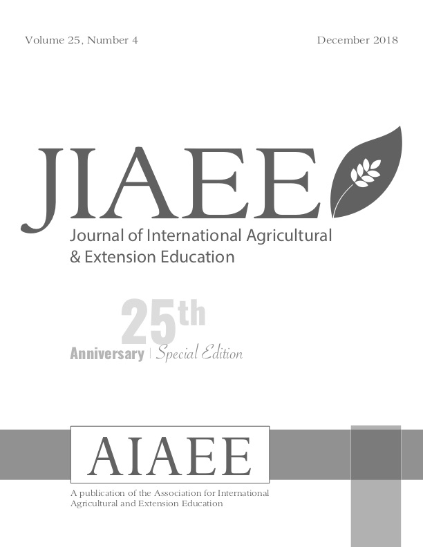 JIAEE 25th Anniversary Special Issue Cover